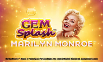 Gem Splash Marilyn Monroe Slot