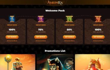 Promotions at AmunRa Casino