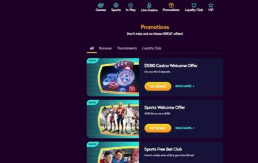 Promotions at Casino360