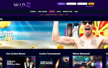 Promotions at Winzz Casino