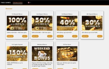 Promotions at Zev Casino