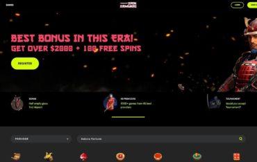 Spinsamuraicom - Website Review