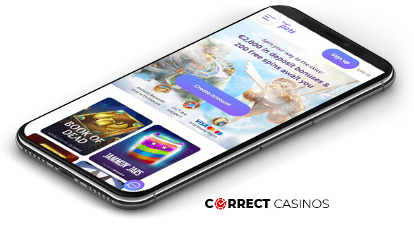 Tsars Casino - Mobile Version