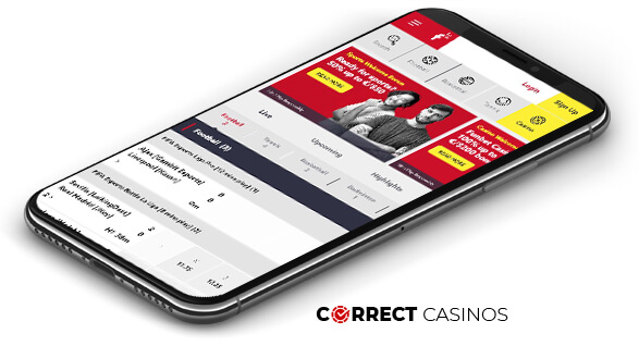 Funbet Casino - Mobile Version