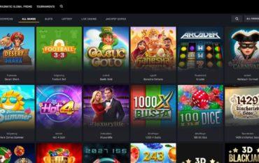 Games at Casino Universe