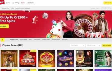 Games at Funbet Casino
