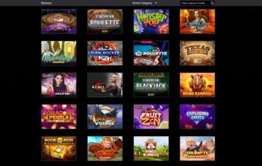 Games at Magicazz Casino