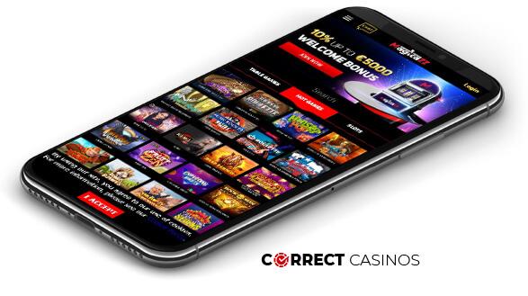 Magicazz Casino - Mobile Version