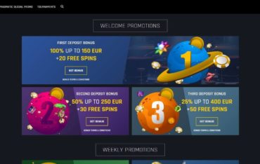 Promotions at Casino Universe