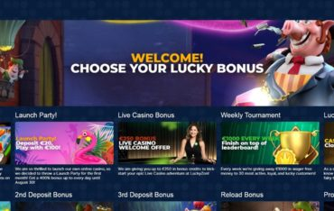 Promotions at Luckyzon Casino