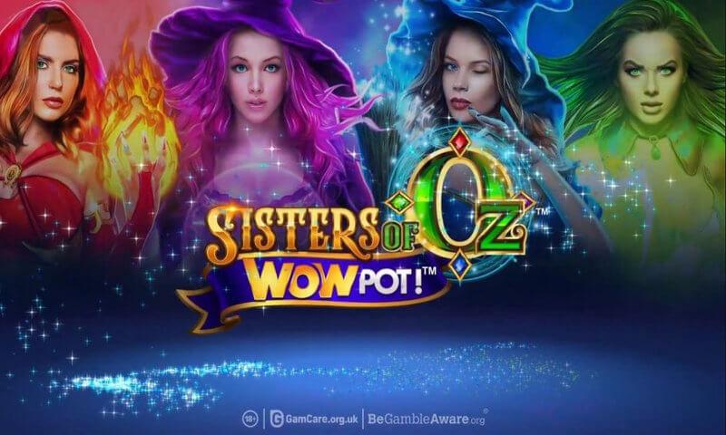 Sisters of Oz WowPot Slot