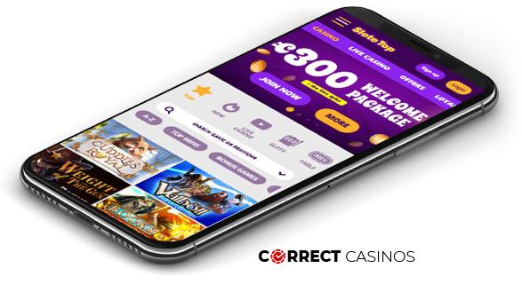 Slototop Casino - Mobile Version