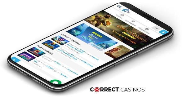 Wolfy Casino - Mobile Version