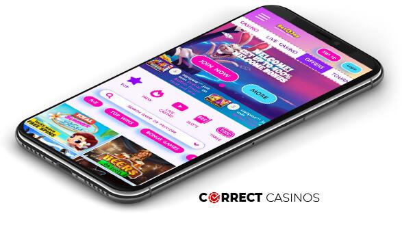 Bet4Joy Casino - Mobile Version