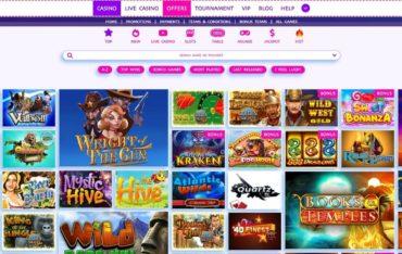Games at Bet4Joy Casino
