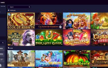Games at JVSpin Casino