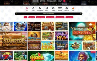 Games at Winnerzon Casino
