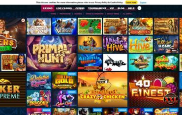 Games at Winown Casino