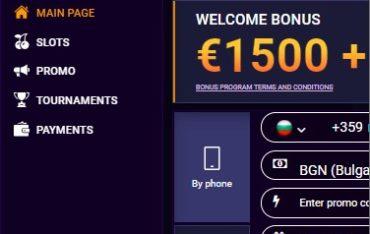 JVSpin Casino - Mobile Version