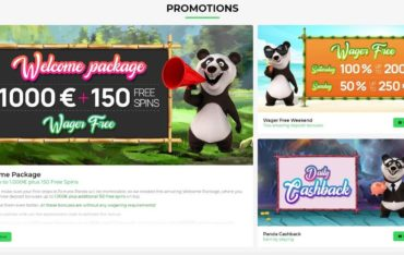 Promotions at Fortune Panda Casino