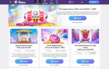 Promotions at Slotum Casino
