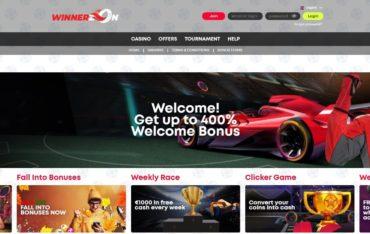 Promotions at Winnerzon Casino