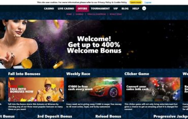 Promotions at Winown Casino