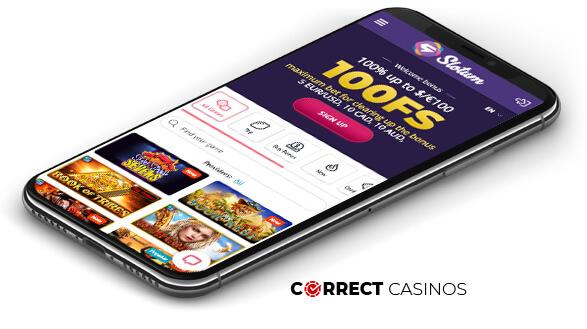 Slotum Casino - Mobile Version