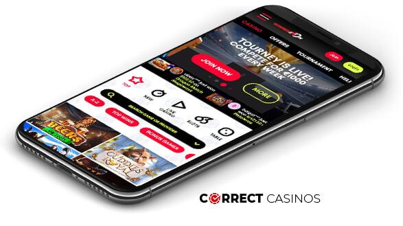 Winnerzon Casino - Mobile Version