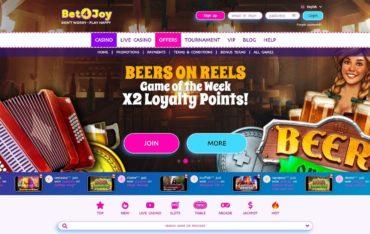 bet4joycom - Website Review