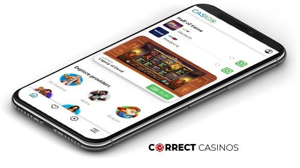 Casigo Casino - Mobile Version
