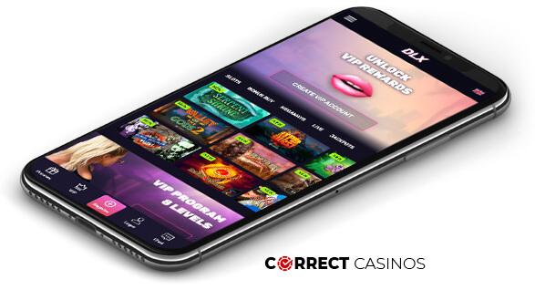 DLX Casino - Mobile Version