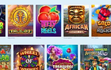 Games at Casino Friday