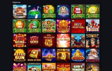 Games at KatsuBet Casino