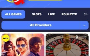 InstantPay Casino - Mobile Version