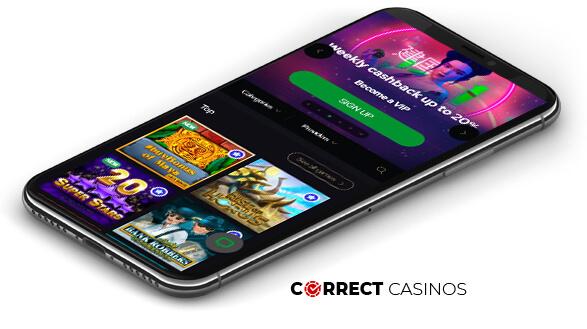 KatsuBet Casino - Mobile Version
