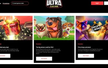 Promotions at Ultra Casino