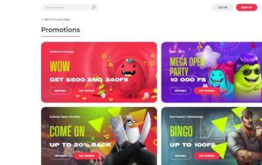 Promotions at Yoju Casino