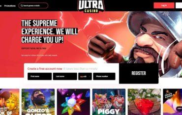 ultracasinocom - Website Review