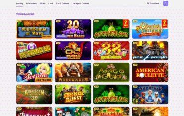 Games at Kim Vegas Casino