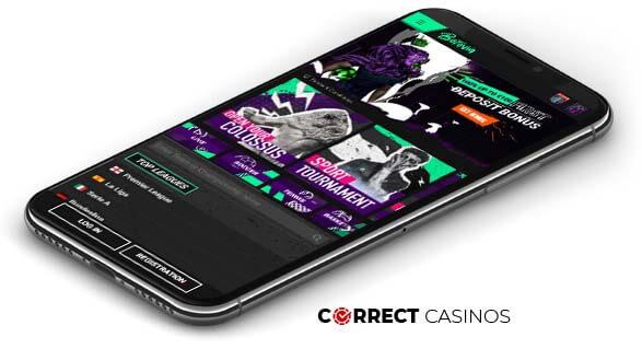 Betinia Casino - Mobile Version