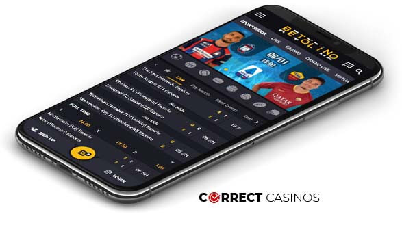 Betolino Casino - Mobile Version