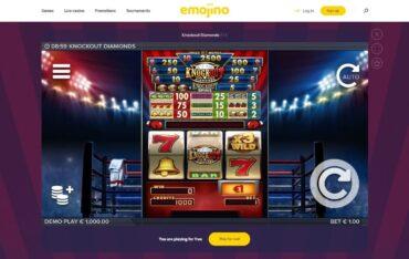 Game Play at Emojino Casino