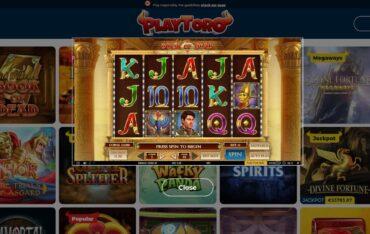 Game Play at Playtoro Casino