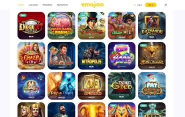 Games at Emojino Casino