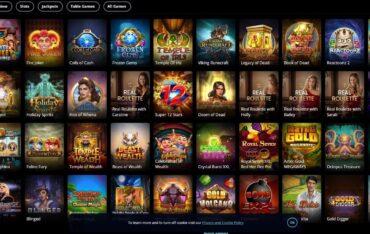 Games at Griffon Casino