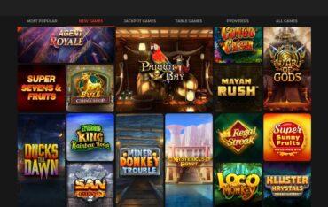 Games at Klirr Casino