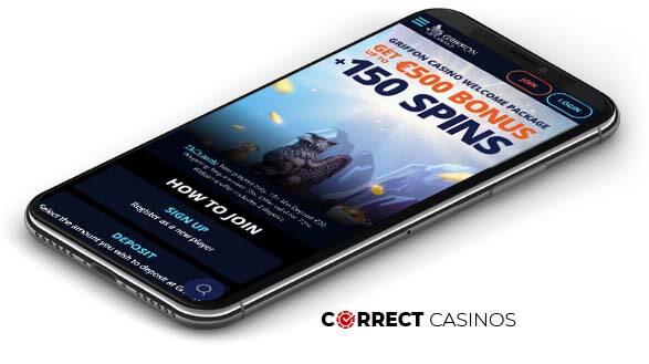 Griffon Casino - MObile Version