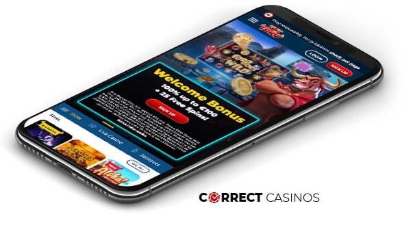 Playtoro Casino - Mobile Version
