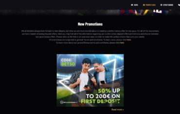 Promotions at Betolino Casino